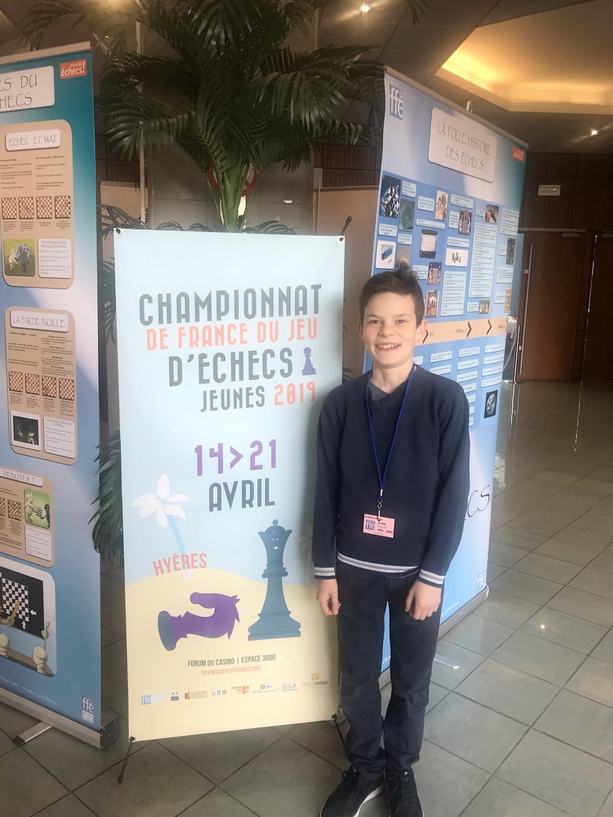 Championnat de france jeunes 2