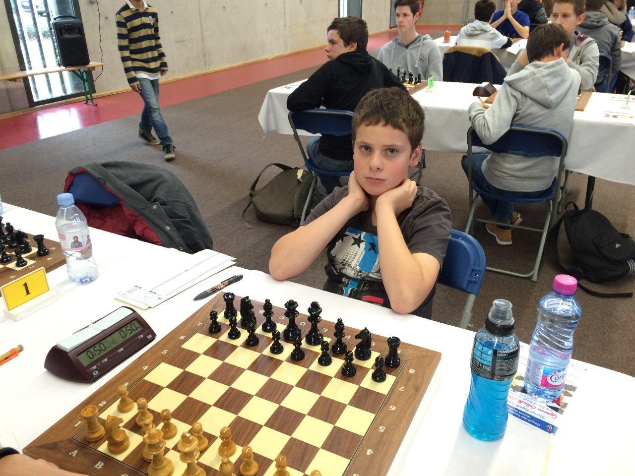 Championnat du rhone jeunes 15