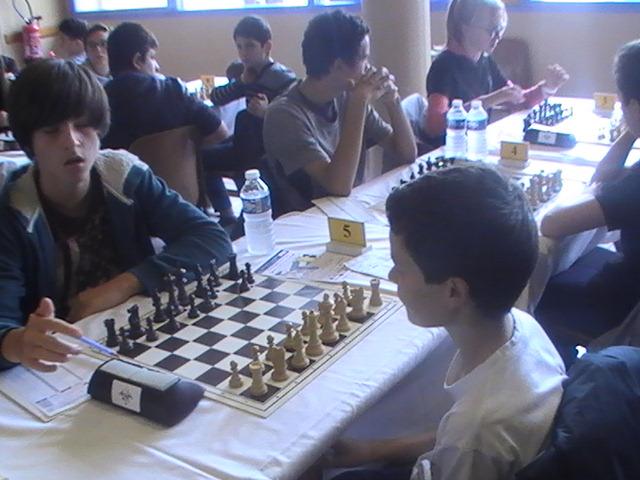 Championnat du rhone jeunes 45