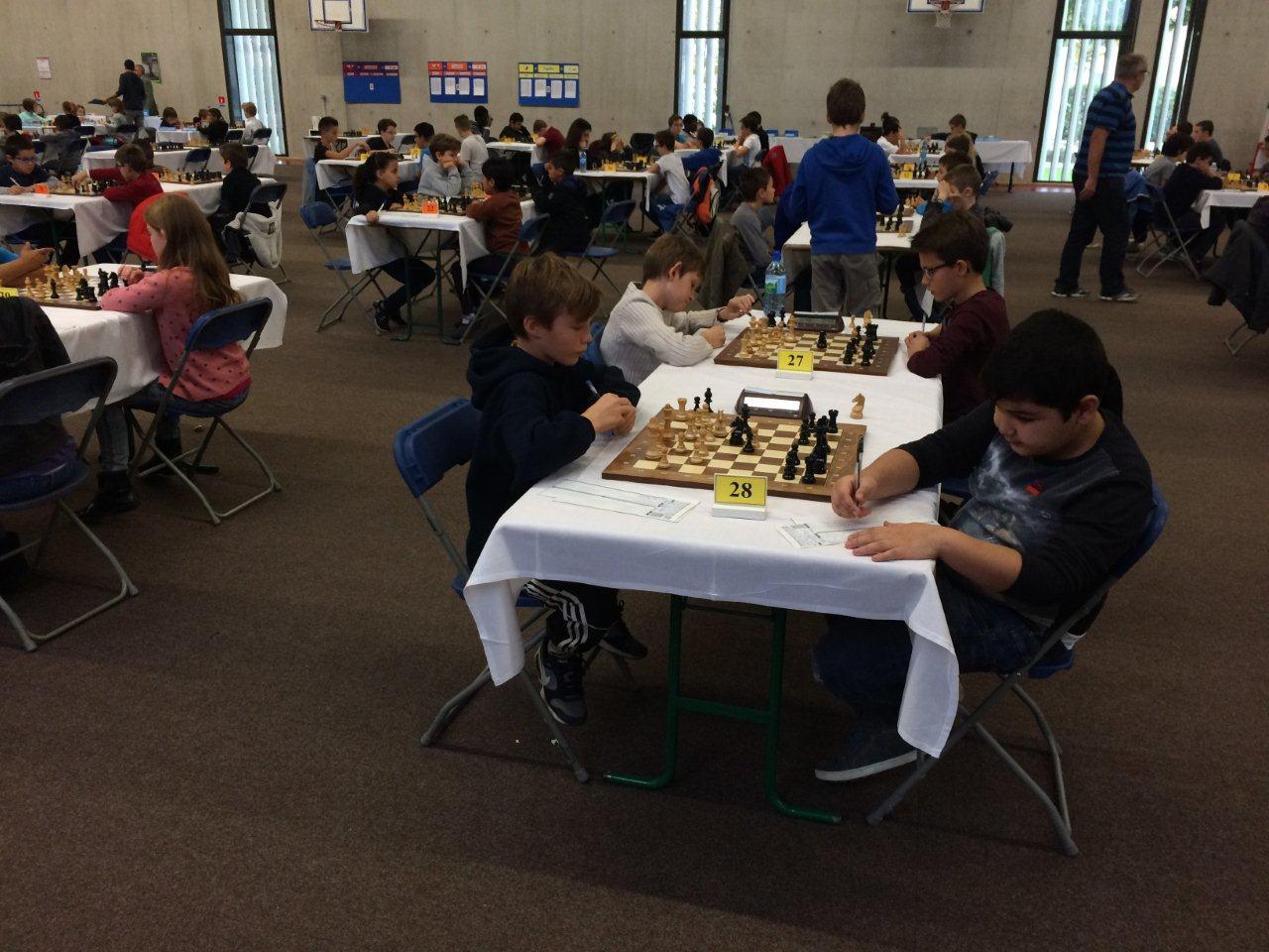 Championnat du rhone jeunes 5