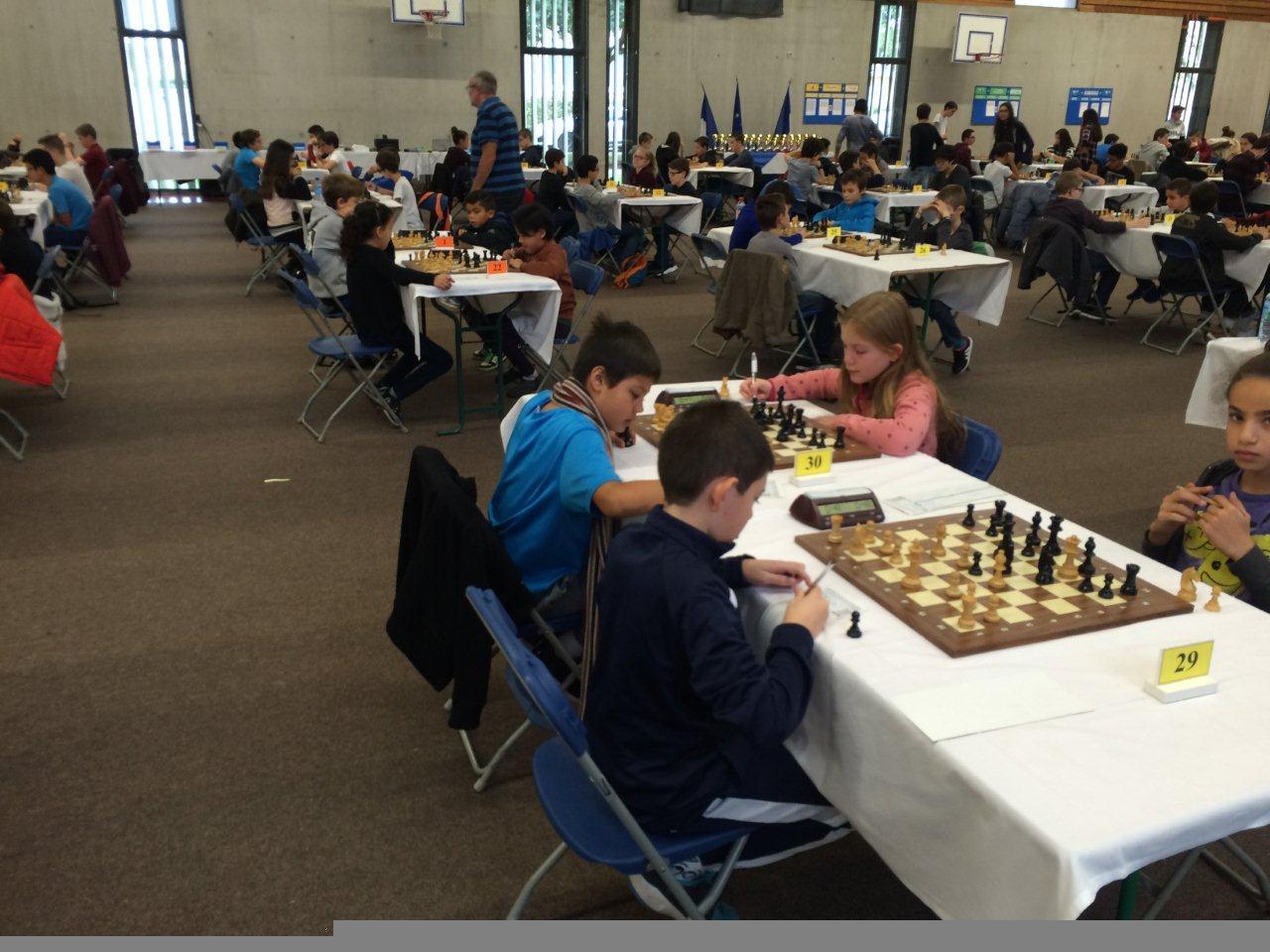 Championnat du rhone jeunes 6
