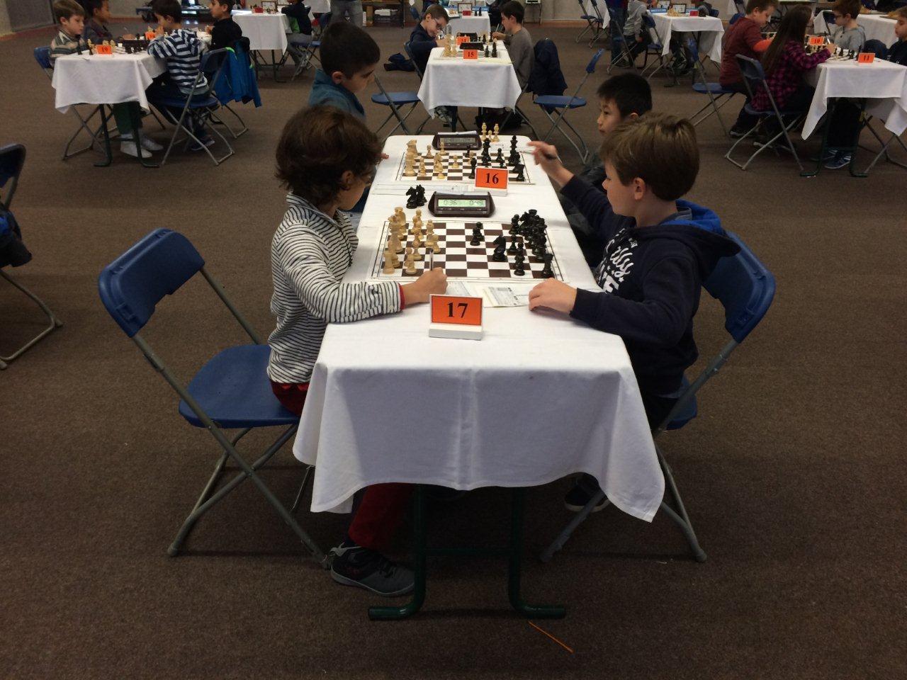 Championnat du rhone jeunes 9