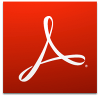 Logo adobe reader dc
