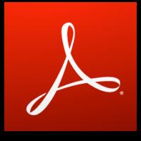 Logo adobe reader dc