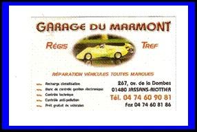 Sponsor garage du marmont