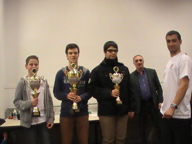 Vainqueurs du tournoi jeunes